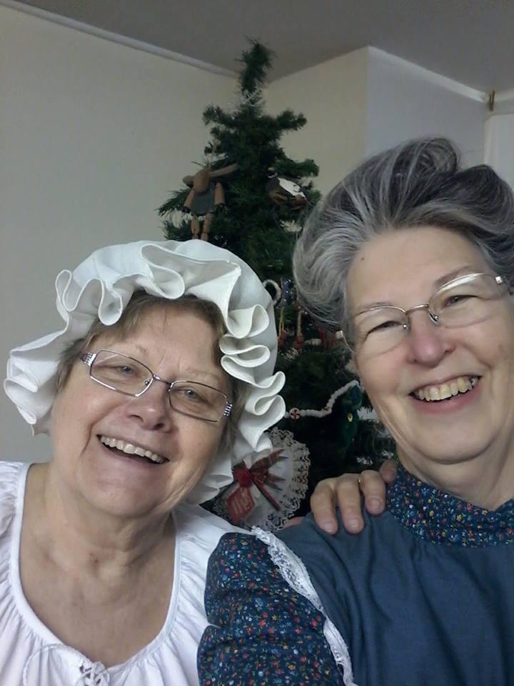 June and Carolyn